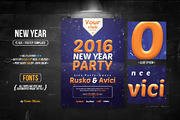 New Year - Flyer-Graphicriver中文最全的素材分享平台