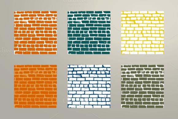 Simple Old Brickwork Design