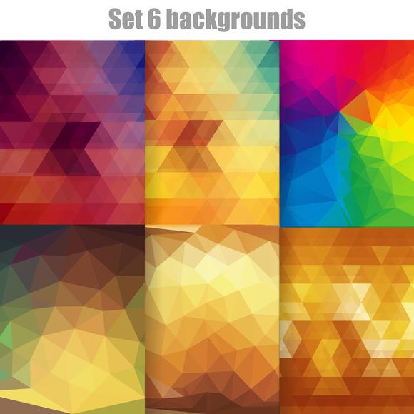 Set 6 Backgrounds