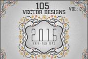 New Year 2016 Bundle - Vol -Graphicriver中文最全的素材分享平台