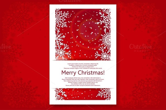 Christmas Backgrounds Set Vector