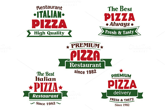 Italian Pizza Restaurant Logo Design