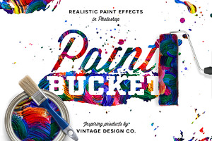 Paint Bucket for Photoshop
