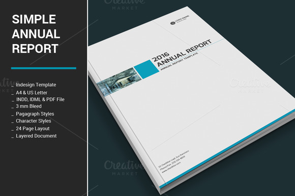 Simple Annual Report 473353 Heroturko Download – Simple Annual Report Template