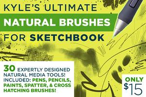 Kyle's Natural Brushes 4 Sketchbook