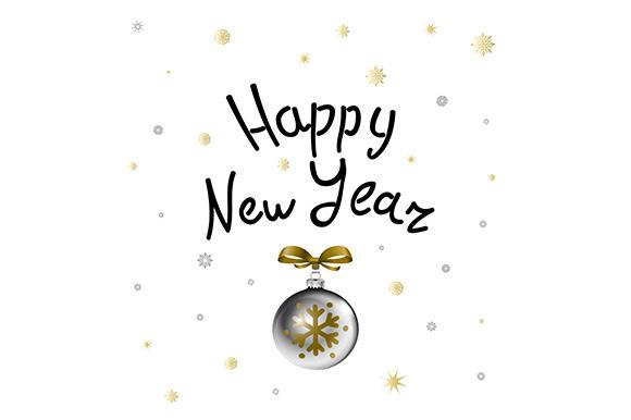 Happy New 2016 Year Holiday Vector