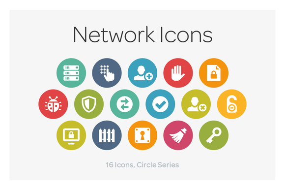 Circle Icons Network