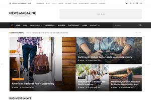 News Magazine - Review & News Portal