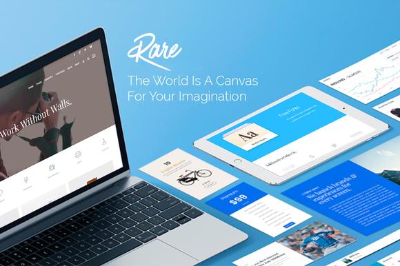 Rare - Multi-Purpose WordPress Theme - Portfolio