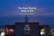 The Pear Starter Web UI Kit-Graphicriver中文最全的素材分享平台