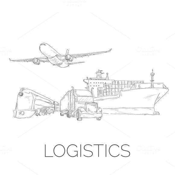 Logistics Sketchy Sign