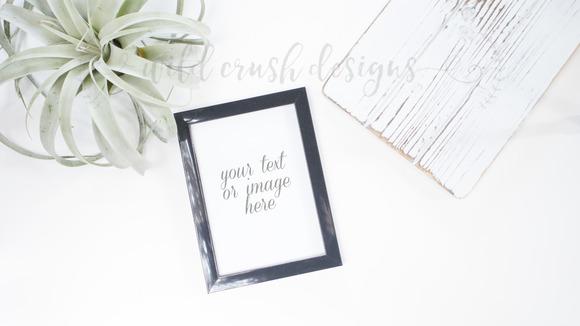 Fresh Simple Desk Mockup Frame