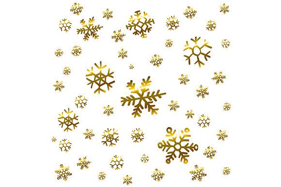 Christmas Snowflake Patterns Vector