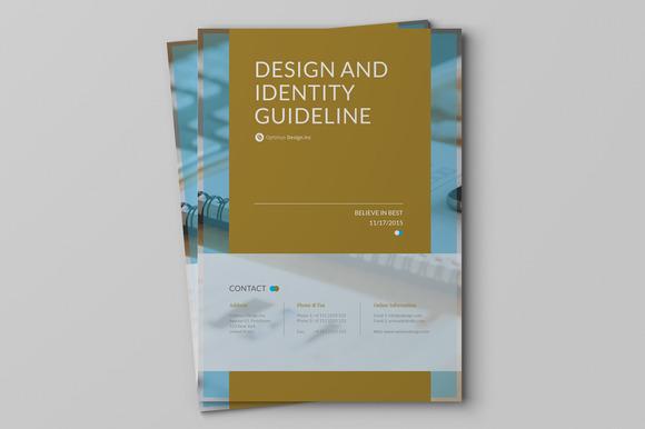 Brand Guideline v.3 - Brochures