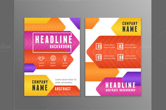Poster Templates. Vector - Illustrations