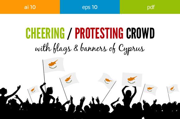 Cheering Crowd Cyprus