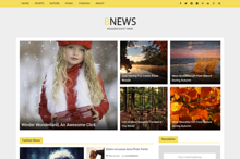 Bnews Responsive News Ghost Theme