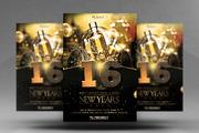 NYE Party 新年 广告设计源文-Graphicriver中文最全的素材分享平台