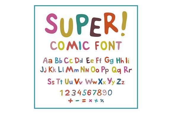 Hand-drawn Vector Alphabet Art Kids