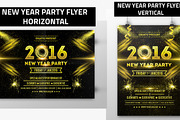 New Year Party Flyer 01-Graphicriver中文最全的素材分享平台