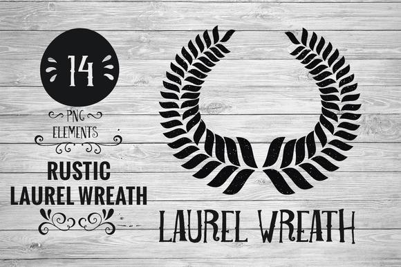 Rustic Laurel Wreath
