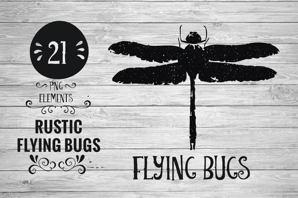Rustic Flying Bugs