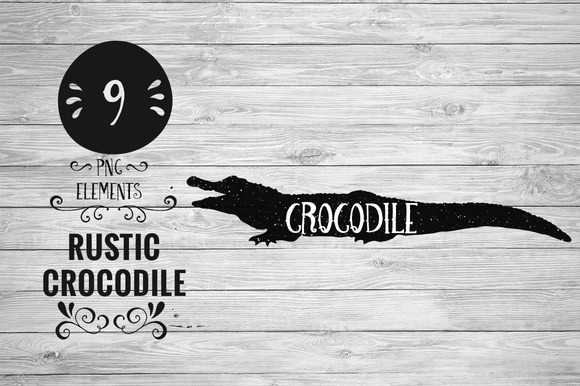 Rustic Crocodile