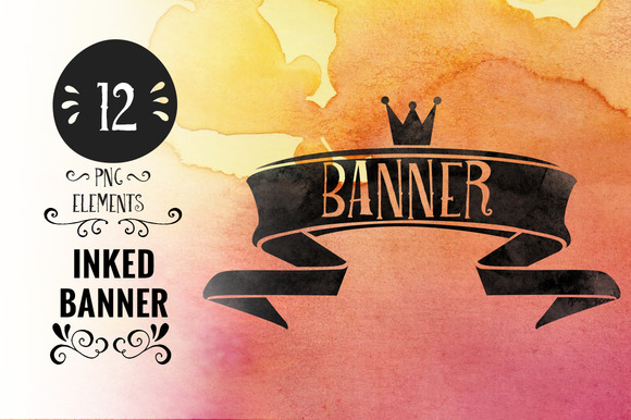 Inked Banners