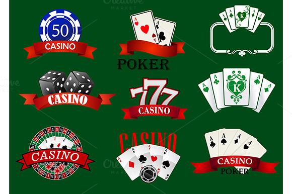 Casino And Gambling Icons Set