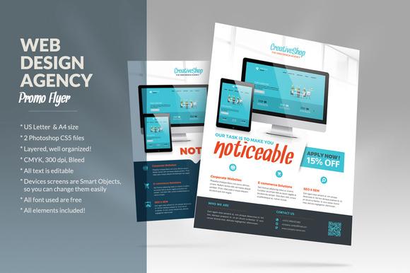 CM Web Design Agency Flyer 482100 Heroturko Download – Web Flyer