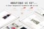 4Boutique Ecommerce UI KIT -Graphicriver中文最全的素材分享平台