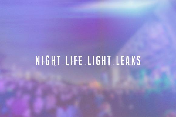 Nightlife Light Leaks Vol. 1 - Textures