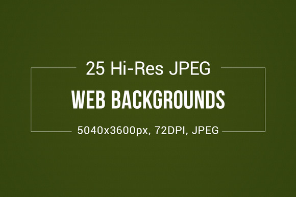 25 Web Background Pack