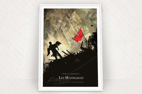 Les Miserables Poster Graphic