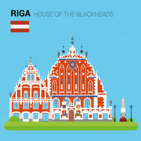 House Of The Blackheads Riga Latvia