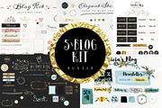 Bundle Blog Kit-Graphicriver中文最全的素材分享平台