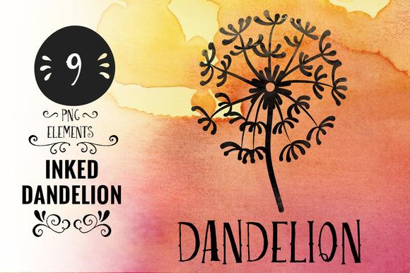 Inked Dandelion