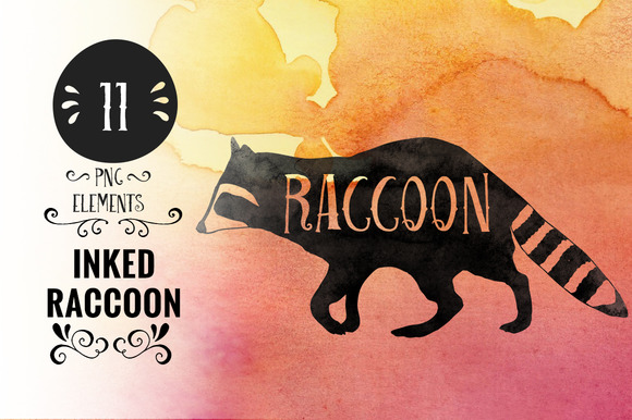 Inked Raccoons