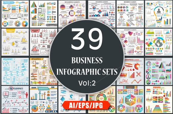 Business Infographics Sets Vol 2