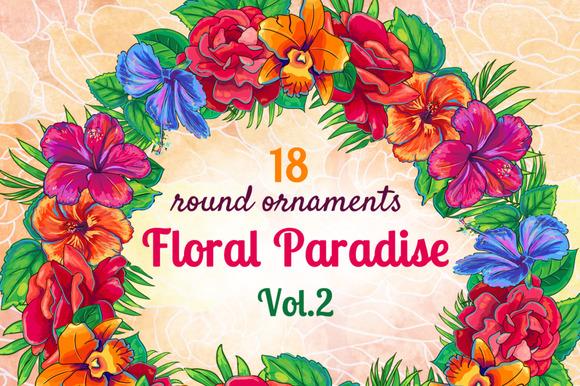Floral Paradise Vol.2: Ornaments - Illustrations