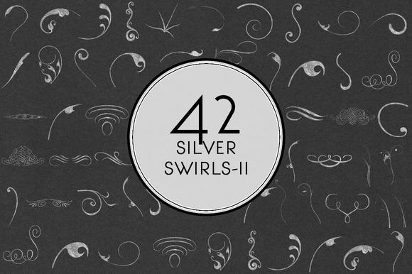 Silver Swirls II