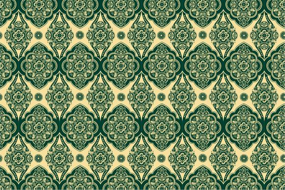 4 Ornamental Seamless Patterns