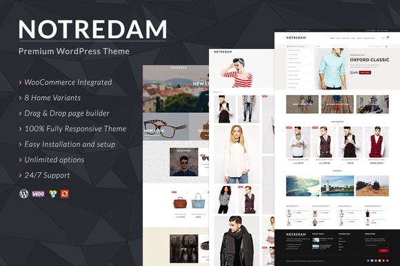 Notredam – Premium WordPress Theme