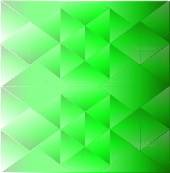 Abstract Background Triangle Green