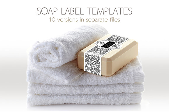 Soap Label Packaging Template ~ Templates on Creative Market