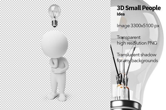 3D Small People Idea