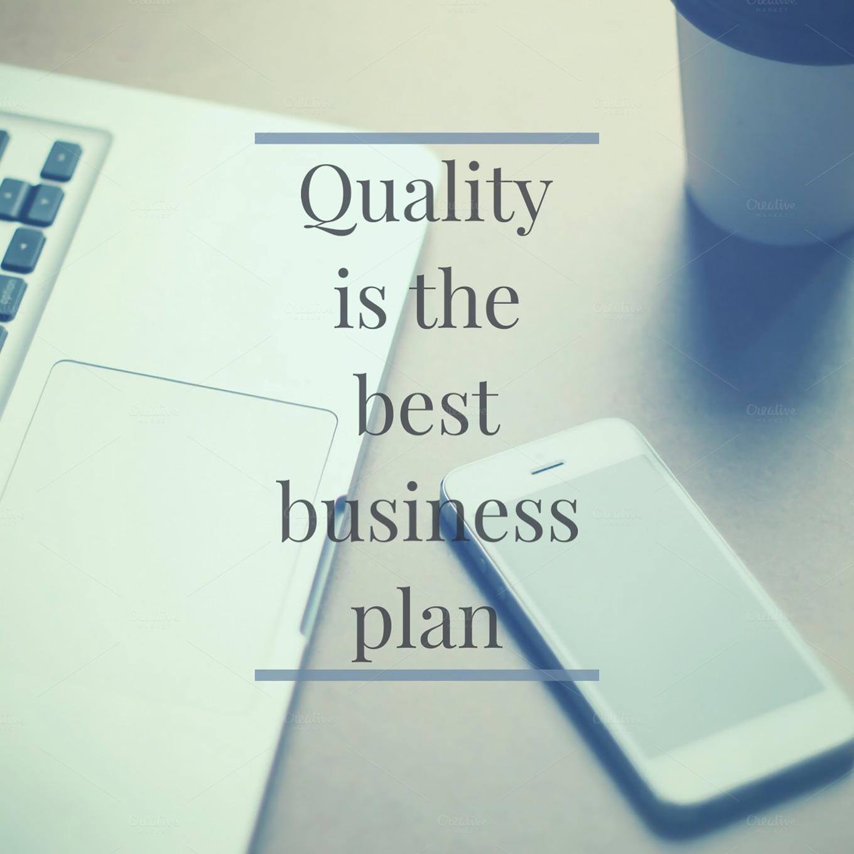 quality business plan