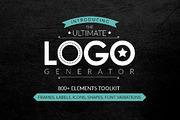 Logo Generator-Graphicriver中文最全的素材分享平台