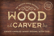 The Wood Carver - PS Styles-Graphicriver中文最全的素材分享平台
