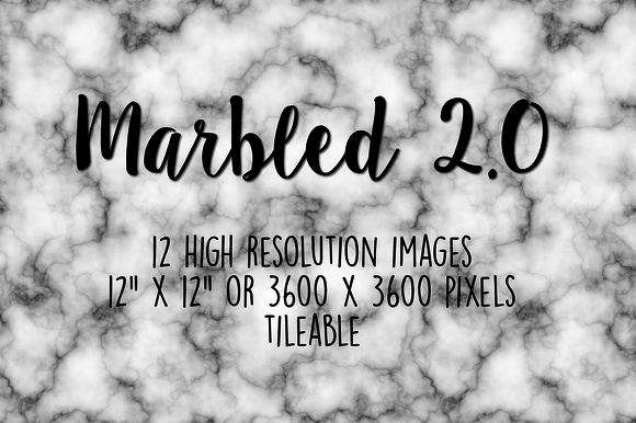 Marbled 2.0 Digital Paper
